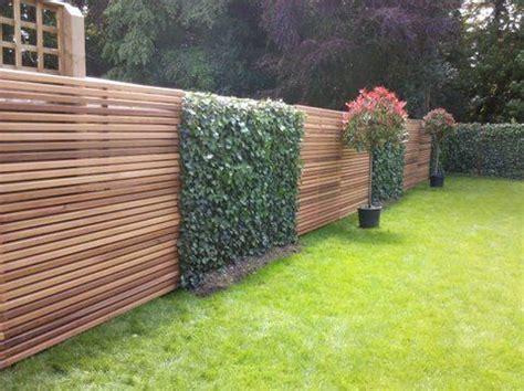 The Contemporary Fencing Company Gallery Fences Garden Fencing Ideas Modern