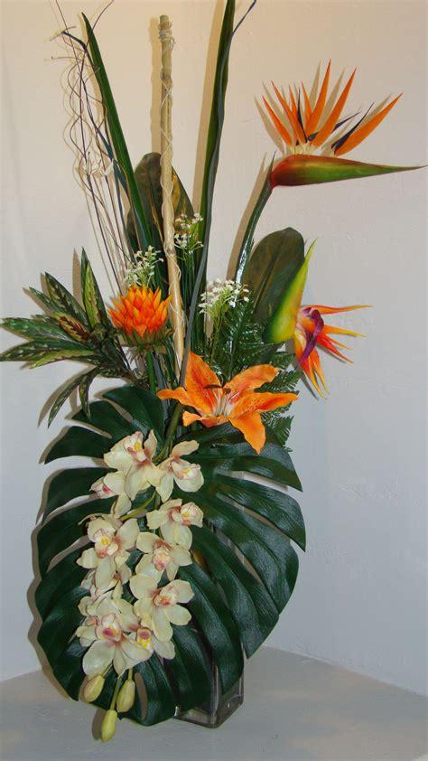 silk flower arrangements silk tropical flower arrangements silk floral