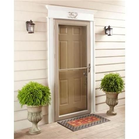 Home Depot Andersen Door by Andersen 30 In X 80 In 2500 Series White Universal Self