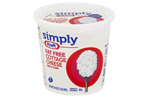 kraft cottage cheese kraft cottage cheese kraft small curd free cottage cheese