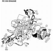 FE 350 Engine  Carryall 2 Plus And 6 Part Club Car