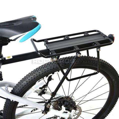 How To Use A Rear Bike Rack by Rockbros Bike Rear Rack Carry Carrier Seatpost Mount