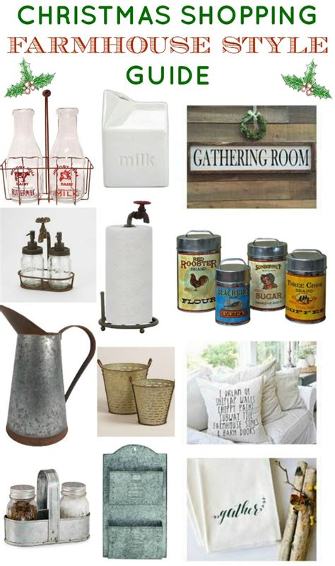 Holiday Shopping Guide Farmhouse Style Knick Of Time | holiday shopping guide farmhouse style knick of time