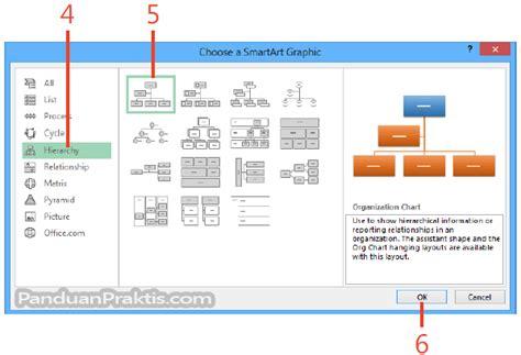 cara membuat struktur organisasi di excel cara membuat bagan organisasi di excel 2013