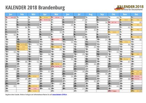 Kalender Brandenburg 2018 Kalender 2018 Brandenburg Zum Ausdrucken 171 Kalender 2018