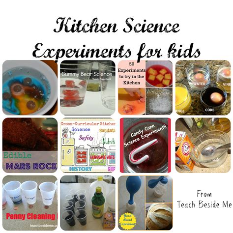 Kitchen Science by Kitchen Science Experiments For Teach Beside Me