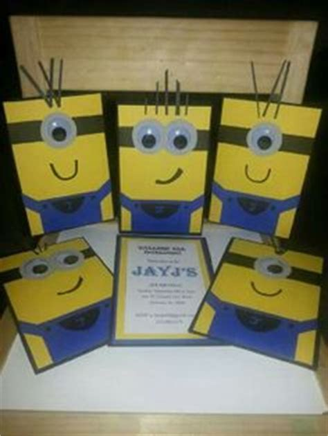 Handmade Minion Invitations - 1000 images about handmade cards iv on
