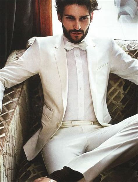 how to wear a white suit for your wedding brides 15 ideal white party outfit ideas for men for handsome look