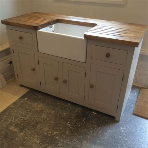 free standing kitchen sink unit kitchen sink unit free standing solid pine with belfast
