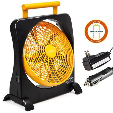 10 battery operated fan o2cool 10 quot battery operated fan portable with ac adapter
