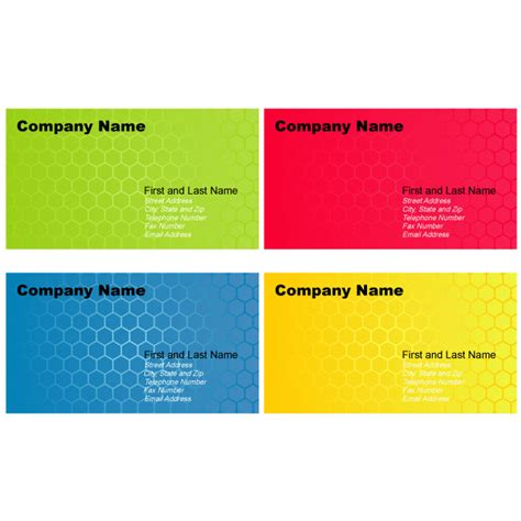 business card template adobe illustrator abstract business card templates for illustrator