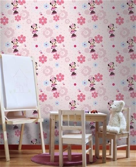 wallpaper borders for girls bedroom disney minnie mouse spring walk girls wallpaper matches