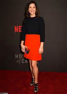 House Of Cards Premiere by Neve Cbell House Of Cards Premiere