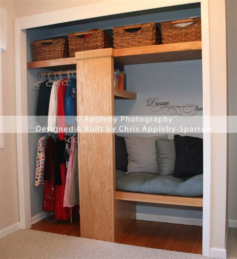 Closet Reading Nook by Turn Closets Into Reading Nooks Trusper