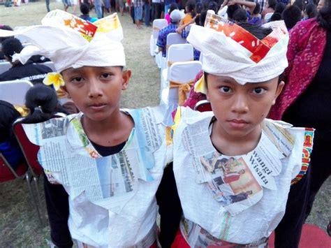 Baju Dari Karung Beras Bulog begini meriahnya festival anak yang penuh sah