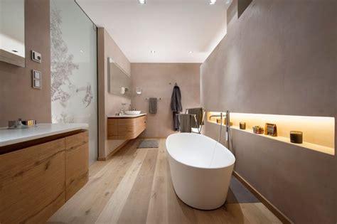 designer badlen modernes badezimmer mit freistehender badewanne