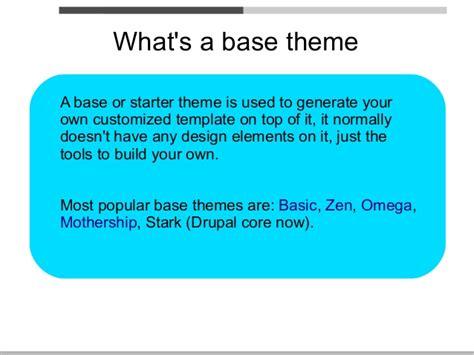 drupal theme zen vs omega drupal themes