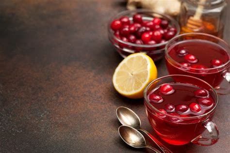Lemonade And Cranberry Detox And Flare Ups by Cranberry Lemon Water Detox Tea Recipe Vitacost