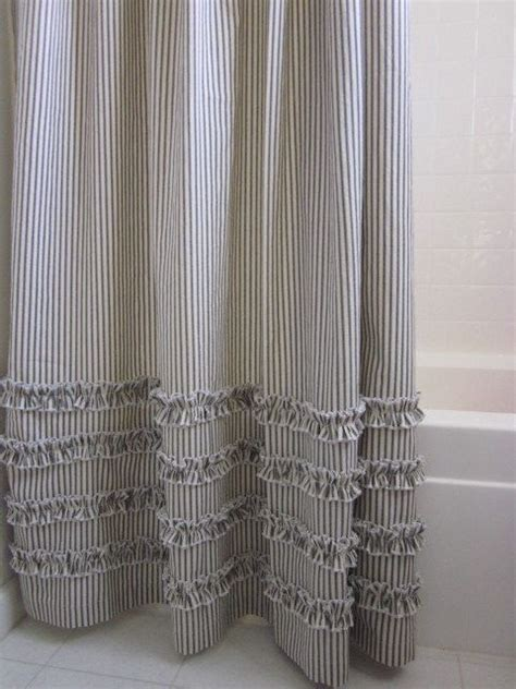 blue and brown striped shower curtain 25 best ideas about striped shower curtains on pinterest