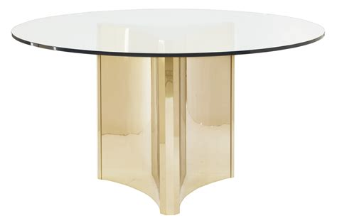 Metal Glass Top Dining Table Metal Dining Table With Glass Top Bernhardt