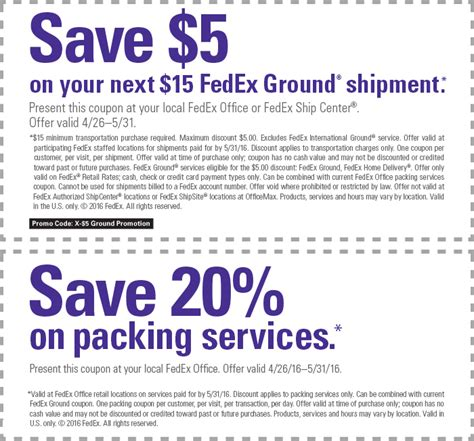 Fedex Office Coupon Code by Fedex Office Coupon Codes Car Wash Voucher