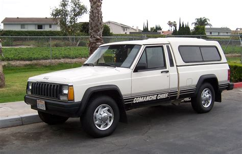 1985 jeep comanche jeep comanche chief