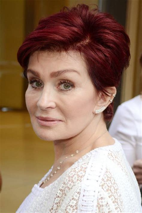back view of sharon osbourne haircut sharon osbourne back of hairstyle back of sharon