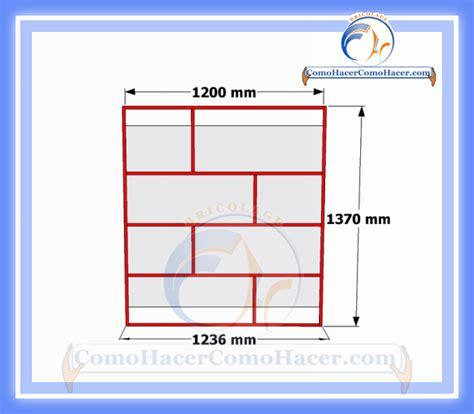 medidas de un estante para libros brico diy plano mueble de melamina estante librero web