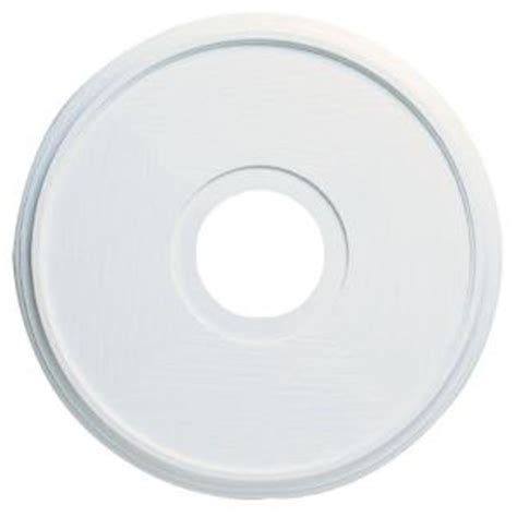 Ceiling Rosettes Home Depot by Westinghouse 16 In Textured White Finish Ceiling