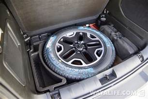 Trailhawk Spare Tire A Walk Around Renny 1st Photos Of Our 2015 Jeep Renegade
