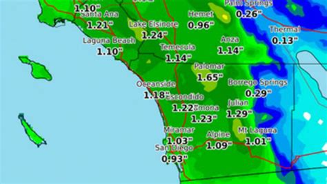 us weather map thursday another late with snow headed to san diego