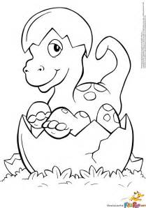 baby dinosaur coloring page hatched baby dino coloring page free printable coloring