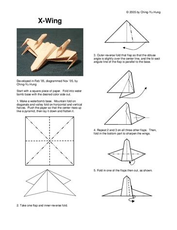 x wing origami tutorial origami x wing fighter tutorial origami handmade
