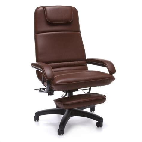 burgundy recliner chair executive recliner chair in burgundy 680 703