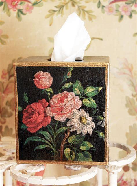 Vintage Design Tissue Box Tempat Tissue Antik Big Ben Rosestissue Box Cover Black