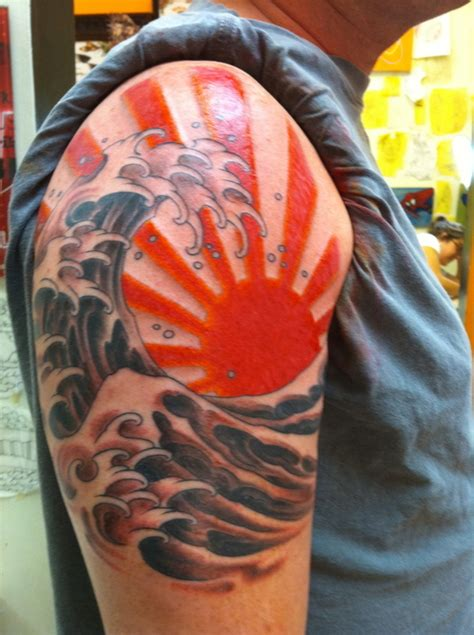 rising sun tattoo designs rising sun tattoos designs ideas and mraning tattoos