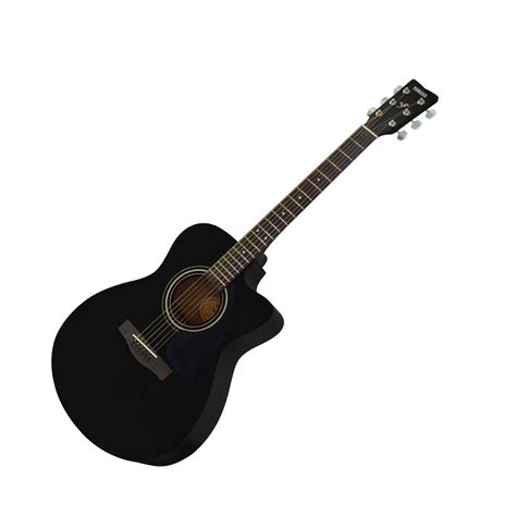 Yamaha Fs100c Acoustic Guitar Original buy yamaha acoustic guitar cutaway fs100c black in india at best price furtados