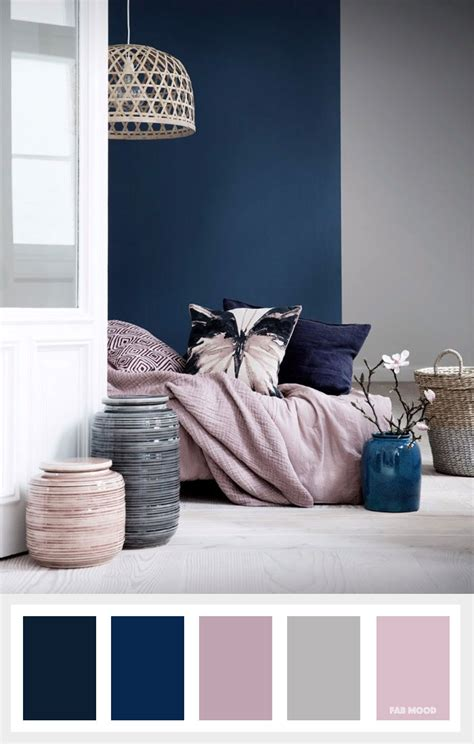 mauve color scheme navy blue mauve and grey color palette fab mood