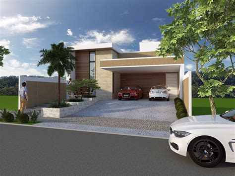 projeto casa projeto casa sobrado terreno em declive arquitetura