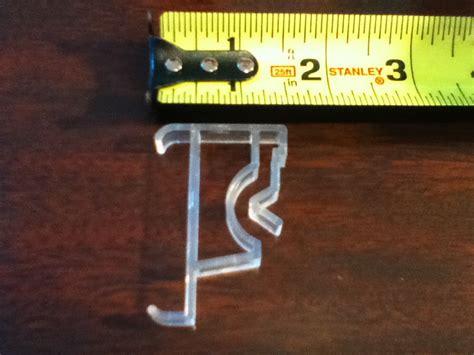 Blind Valance Clip levolor valance clip fauxwood wood blind levelor plastic new blinds qty 1 ebay
