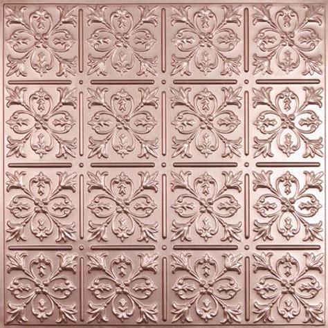 Copper Ceiling Tiles Fleur De Lis Copper Ceiling Tiles