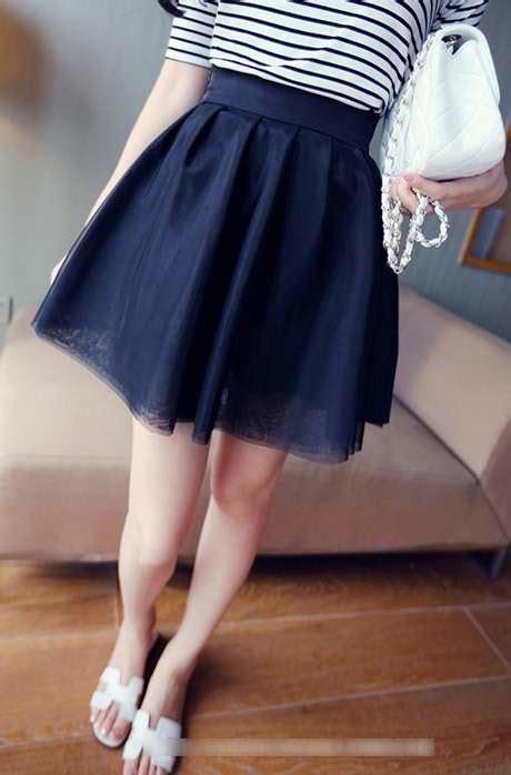 Baju Setelan With Skirt Model Black White Fashion Impor jual skirt rok wanita fashion koleksi baju pakaian model korea style cantik manis murah