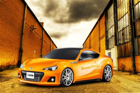 tuned subaru brz subaru brz tuning kit by tunehouse preview autoevolution