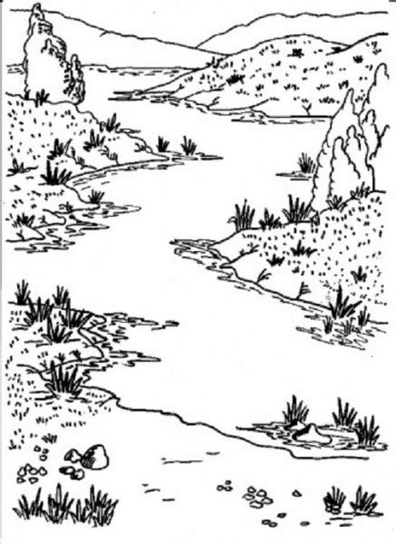 river coloring pages coloring page for kids kids coloring