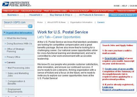 usps printable job application applications for employment sle siteye giriş i 231 in