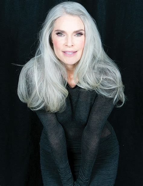 women over 50 with long grey hair hairstyles for women over 50 for a unique and modern