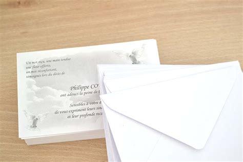 carte de remerciement d 233 c 232 s pas cher avec mod 232 le gratuit