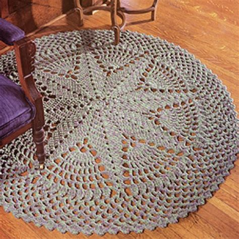 Craftdrawer Crafts Best Crochet Round Rug Patterns Crochet Rug Pattern