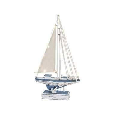 model zeilboot kopen model zeilboot met led licht 43 cm model zeilboot nl