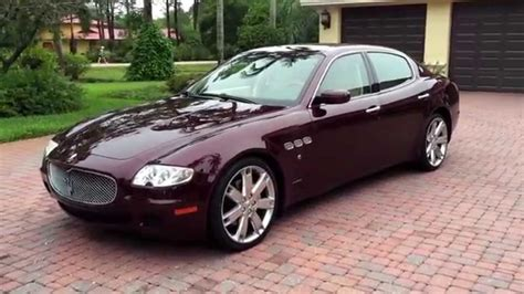 2007 Maserati Quattroporte by Sold 2007 Maserati Quattroporte Sedan For Sale By